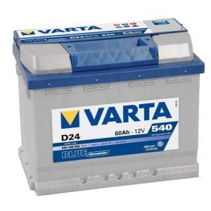 BATTERIE VARTA D24 5604080543132
