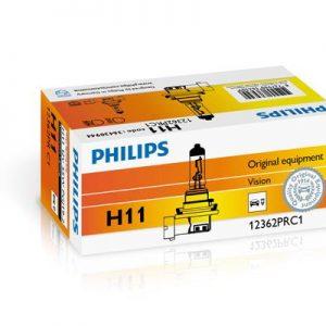 PHILIPS AMPOULE, PROJECTEUR LONGUE PORTÉE H11 12362PRC1